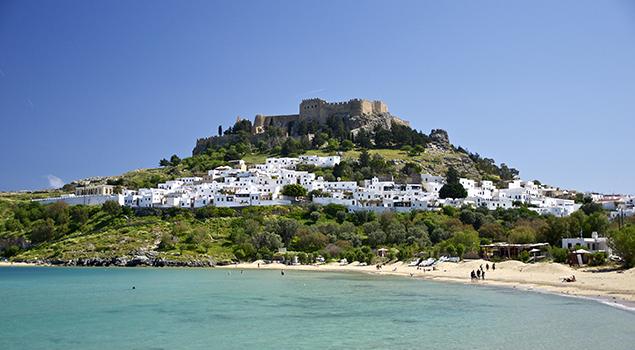 Mooie vakantiebestemmingen in Europa - Rhodos