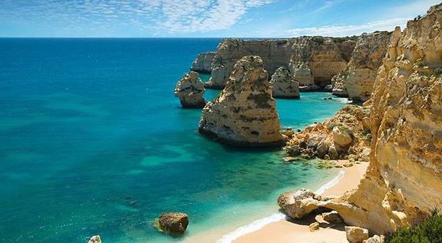 Stranden Algarve - Praia da Marinha