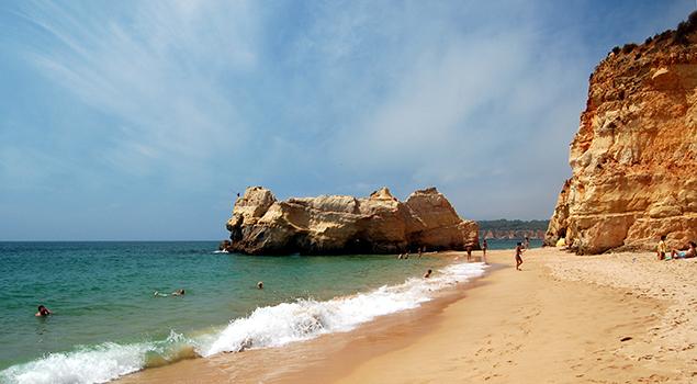 Stranden Algarve - Praia da Rocha