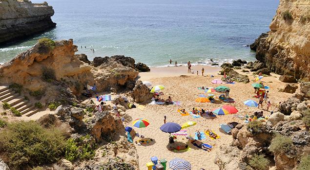 Stranden Algarve - Praia de Albandeira