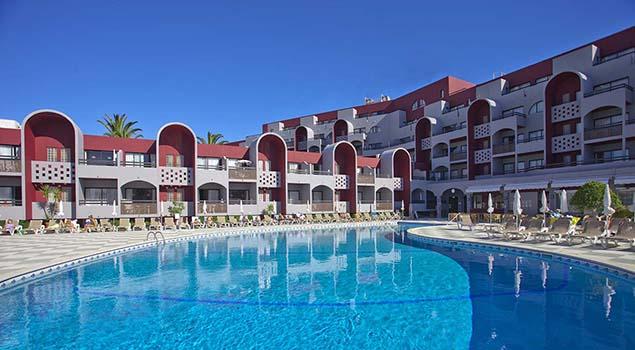 Oura Praia - Het zwembad