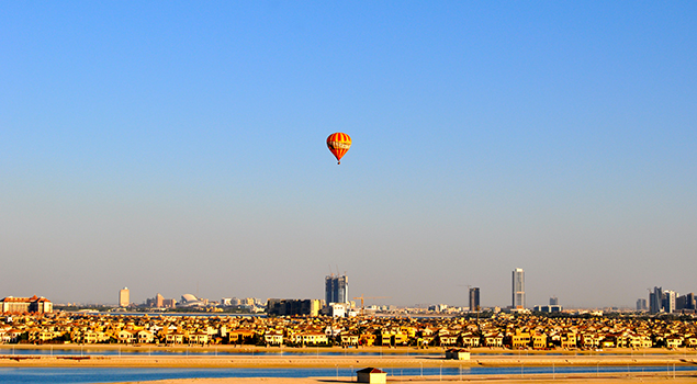 Heteluchtballon in Dubai - Excursies Corendon