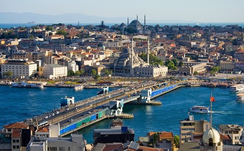 Wat te doen in Istanbul - Uitzicht over Istanbul