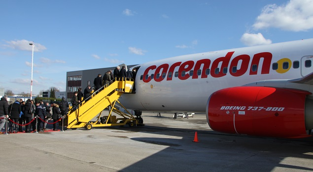 Vliegtuig Corendon