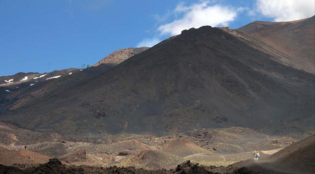 etna-vulkaan