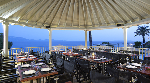 restaurant bij dimitra beach