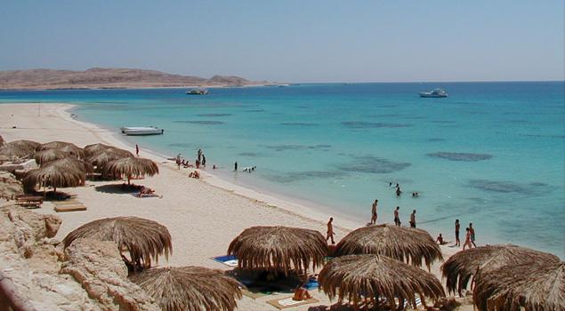 Strand van Hurghada