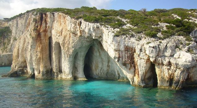 Blue Caves op Zakynthos