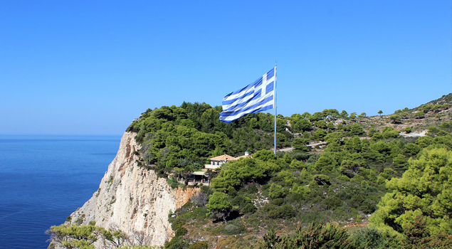 Grootste Griekse Vlag ter Wereld
