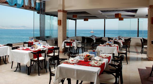 Restaurant van het Panorama Hotel