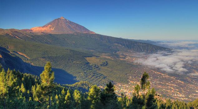 Orotava Vallei op Tenerife