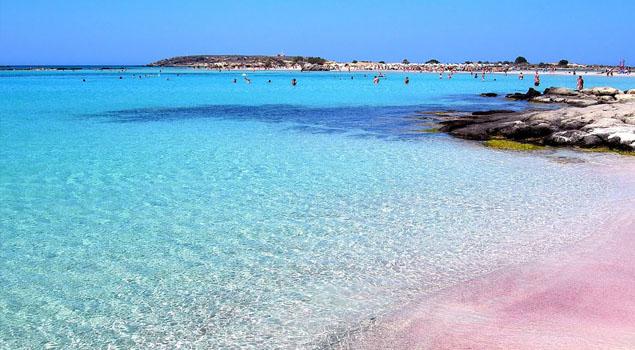 Elafonessi strand