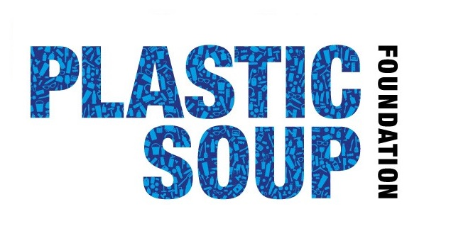 Plastic soup foundation logo wit