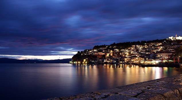 Ohrid by night