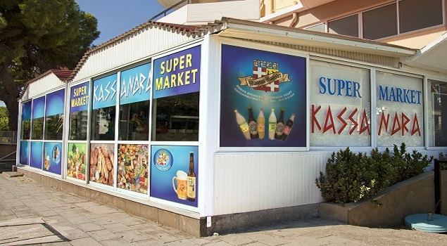 Supermarkt Kassandra Appartementen