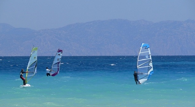 Surfen in Ilyssos