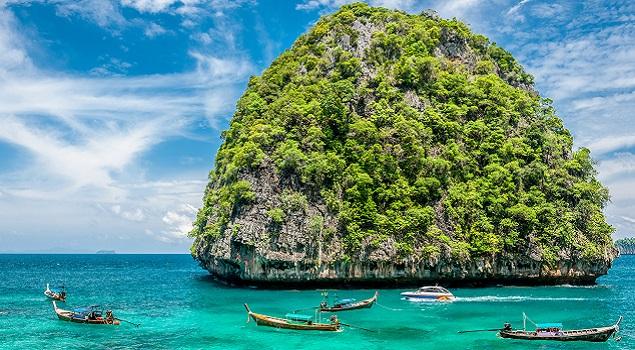 Thailand - zon in februari