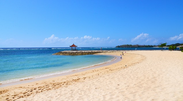 Het serene Nusa Dua Beach
