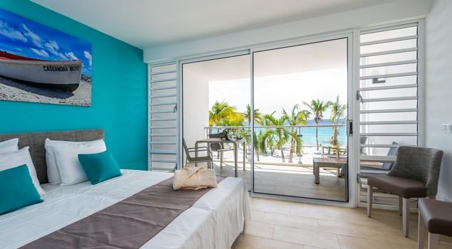 Comfortabele studio's van Delfins Beach Resort Bonaire