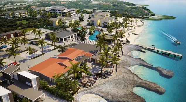 Delfins Beach Resort ligt direct aan het zandstrand