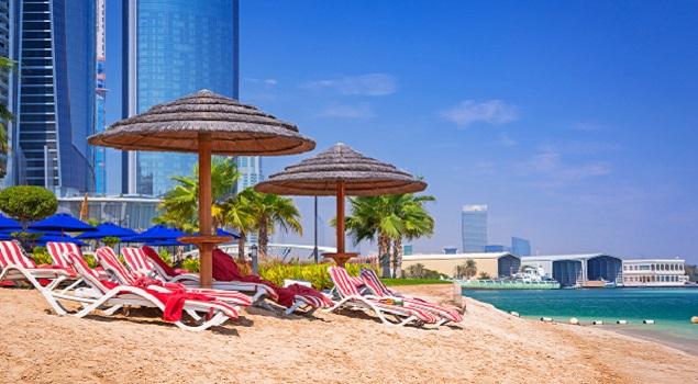 Abu Dhabi - strand