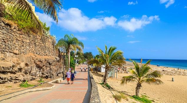 Canarische eilanden - boulevard