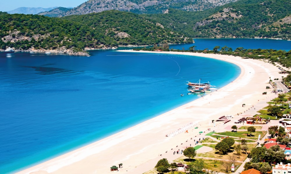 Mooiste badplaatsen Turkije
