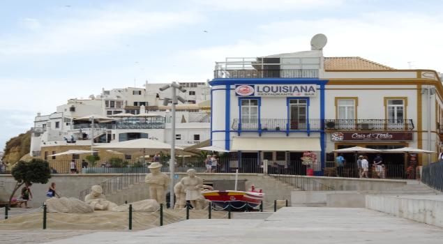 oude centrum Albufeira