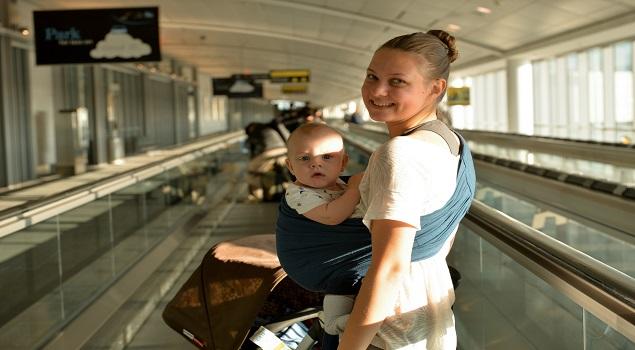 Inpaklijst vakantie baby; de onmisbare draagzak