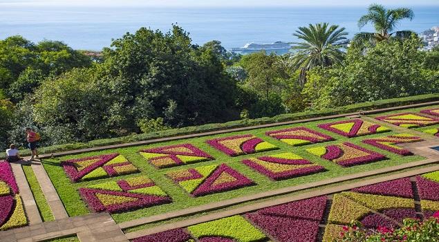 Madeira drijvende tuin