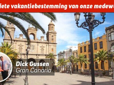 Dick op Gran Canaria